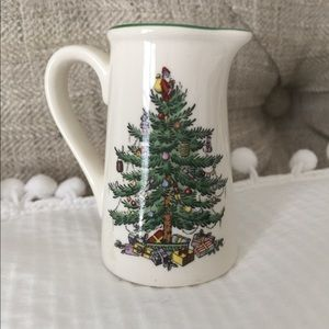 Spode Christmas Tree Pitcher